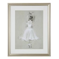 Большая картина с изображением балерины PIROUETTING BALLERINA 50*40