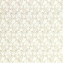 Тонкие бумажные обои с красивым рисунком бежевого цвета THISTLEWOOD (Natural)