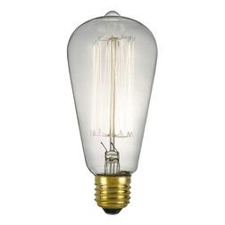 Вытянутая декоративная лампочка для люстры E27 RUSTIKA BULB L10 (Clear)