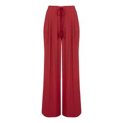 Брюки-юбка яркого красного цвета TR 412