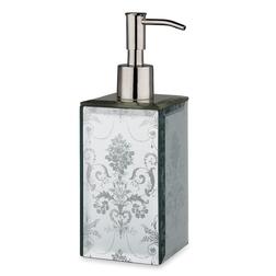 Дозатор для жидкого мила из зеркальных панелей JOSETTE SOAP DISPENSER 20*8*8 (Mirror)