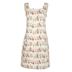 Изысканное и элегантное платье-футляр длиной до колена, бежевого цвета MD 800