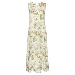 Замечательное летнее платье в красивый принт цветов MD 871