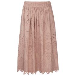 Изысканная и необыкновенно нежная юбка-колокольчик с оригинально перфорацией MS 691