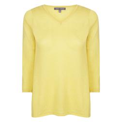 Джемпер лимонного цвета JP 716