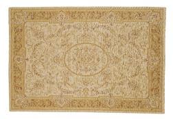 Большой ковер в бежево-золотых тонах VICTORIANA 200*280 (Gold/Ivory)