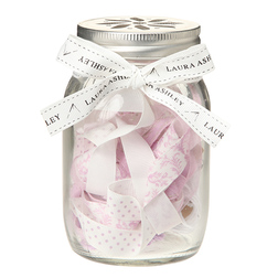Набор для шиться с лентами розово-фиолетового оттенка SEWING JAR 13*8 (Amethyst)