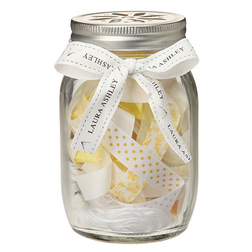 Набор для шиться с лентами желтого оттенка SEWING JAR 13*8 (Camomile)