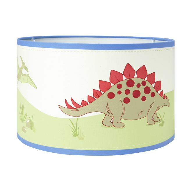 Красивый абажур для детской комнаты DINOSAURS 30*19 (Multi)