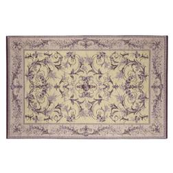 Тонкий ковер маленького размера с восточным рисунком фиолетового цвета MALMAISON 120*180 (Amethyst)