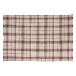 Большой ковер светло-бежевого цвета в клетку HIGHLAND 170*240 (Linen )