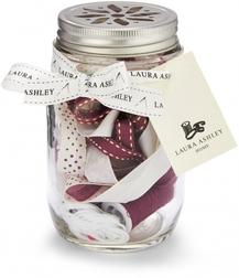 Набор для шиться с лентами клюквенного оттенка SEWING JAR 13*8 (Cranberry)