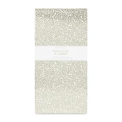 Ароматическая бумага большого размера с запахом лилии WHTE LILY & AMBER DRAWER LINERS 39,4*59,4*1,5
