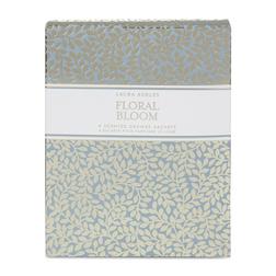 Ароматическая бумага с цветочным ароматом FLORAL BLOOM DRAWER SACHETS 13*14,5*1,5 (Blue)