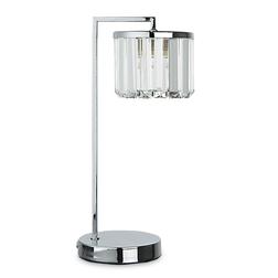 Лампа со стеклянным абажуром FERNHURST 37*18*13 (Chrome)