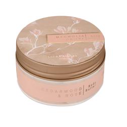 Масло для тела с ароматом кедрового дерева и лепестков розы MAGNOLIA GROVE BODY BUTTER 5*9 (Pink)