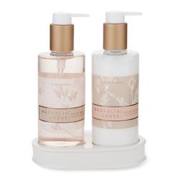 Подарочный набор мыла и лосьона для тела с ароматом кедрового дерева MAGNOLIA GROVE HAND WASH & LOTI