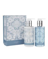 Подарочный набор мыла и лосьона с цветочным ароматом FLORAL BLOOM HAND WASH & LOTIN SET 2*225ml