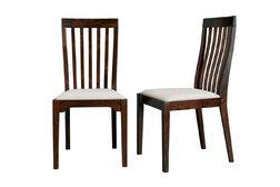 Пара стульев каштанового цвета GARRAT  Pair DINING 100*48*55 (Dark)