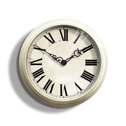 Небольшие часы кремового цвета GALLERY Ø38 (Cream)