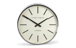 Круглые настенные часы в серебристом обрамлении RICHMOND Ø45*11 (Chrome)