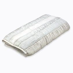 Покрывало большого размера и светло-серого цвета LEILA 240*260 (Dove Grey)