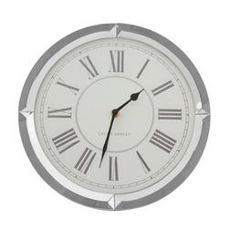 Настенные часы в круглой зеркальной раме ROUND MIRRORED Ø31 (Mirror)