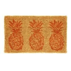 Коврик под дверь в яркие ананасы PINEAPPLES DOORMAT 43*73 (Copper)