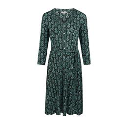 Платье черно-зеленого цвета MD 881