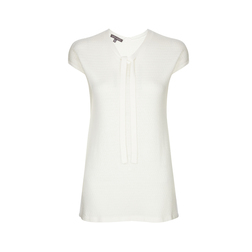Платье-туника белого цвета MD 946