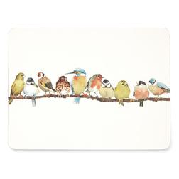 Набор подставок под посуду с рисунком птичек GARDEN BIRDS SET OF 4 PLACEMATS 30,5*23 (Multi)