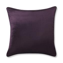 Большая плюшевая подушка фиолетового цвета NIGELLA 50*50 (Blackberry)