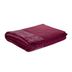 Большое стеганое покрывало клюквенного цвета LEWES 240*260 (Cranberry)
