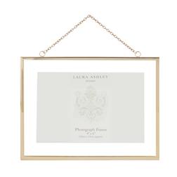 Настенная рамка для фото золотистого цвета HANGING ROSE 21*16 (Gold)