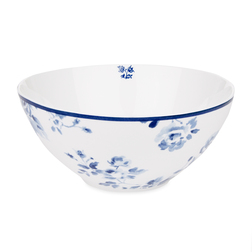 Глубокая тарелка с рисунком китайской розы CHINA ROSE BOWL 6,5*15 (Blue)