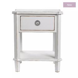 Тумбочка светло-серого цвета HENSHAW SIDE TABLE 60*50*40 (Pale Steel)