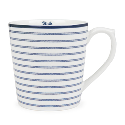 Фарфоровая чашка в тонкую полоску CANDY STRIPE 8*9 (Blue)
