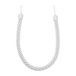 Прихват для штор серебристого цвета ROPE TIEBACK L89 (Silver)
