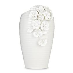 Фарфоровая ваза с цветами ANA FLORAL DETAIL 16,7*14*24 (White)