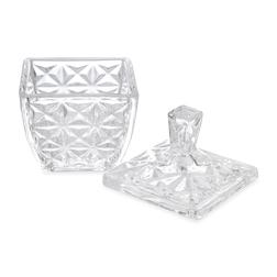 Стеклянная шкатулка с крышкой TRINKET POT 8*11 (Glass)