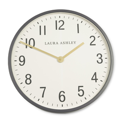 Настенные часы в сером обрамлении PUTNEY WALL Ø45 (Grey)
