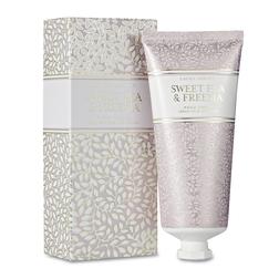 Крем для рук с ароматом цветов и цитруса SWEET PEA & FREESIA HAND CREAM 100ml (Amethyst)