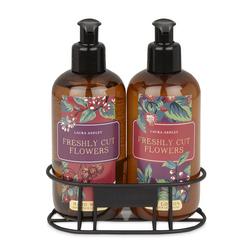 Жидкое мыло и лосьон для рук с цветочным ароматом FRESHLY CUT FLOWERS HAND WASH & LOTIN SET 2*250ml