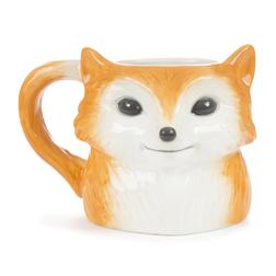 Чашка в форме лисички FOX 14,5*11,5*10,5 (Orange)