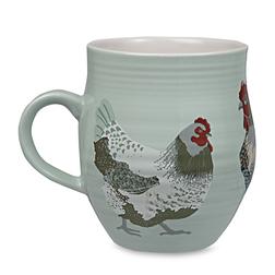 Большая чашка с рисунком курочек CHICKENS 12*10 (Multi)