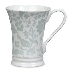 Чайная чашка с рисунком зелено-голубого цвета LYLA REGENT 10,5*8,5 (Duck Egg)