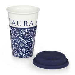 Чашка с крышкой темно-синего цвета SWEET ALLYSUM COFFEE CUP 280ml (Blue)