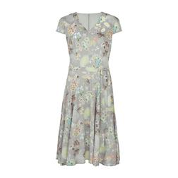 Вискозное платье с цветочным принтом MD 906
