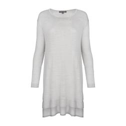 Серое платье - туника MD 894
