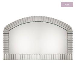 Массивное зеркало арочной формы CAPRI OVERMANTEL 87*148*2 (Mirrored)